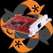 Zycoo 1E1/T1 - Módulo 1 PRI - CooVox