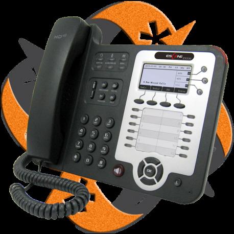 Escene GS330-PE - Teléfono IP Avanzado Gigabit PoE