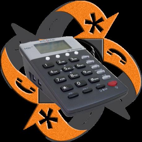 Escene CC800-N - Teléfono IP Call Center