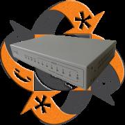 Realtone WSS8-6S/2O - Gateway VoIP Análogo- 2 FXO - 6 FXS