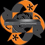 TP-Link TL-SF1024 - Switch 24 Puertos