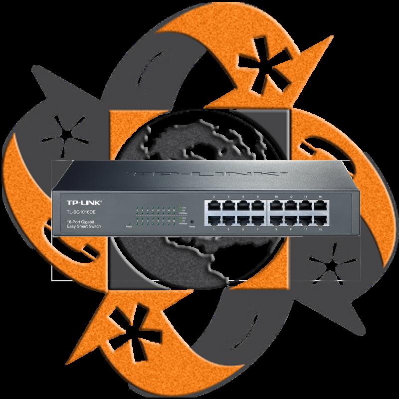 TP-Link TL-SG1016DE - Switch QoS Gigabit Smart