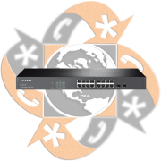 TP-Link TL-SG2216 - Switch SFP Gigabit Smart