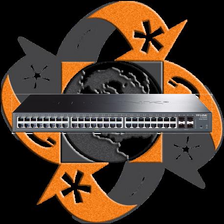 TP-Link TL-SG2452 - Switch SFP Gigabit Smart