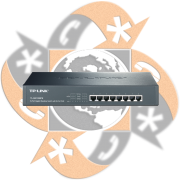 TP-Link TL-SG1008PE - Switch Giga PoE 8 Puertos