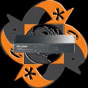 TP-Link TL-SG1008P - Switch Giga PoE 4 Puertos