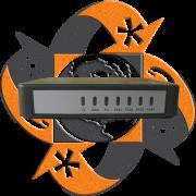 Realtone WSS4-2S1O - Gateway VoIP Análogo - 2 FXS - 1 FXO