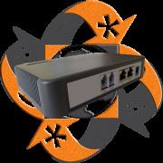 Realtone WSS4-2O - Gateway VoIP Análogo - 2 FXO