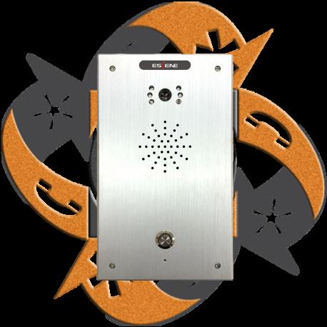 Escene IV750 - Video Citofono Portero IP PoE 1 Botón