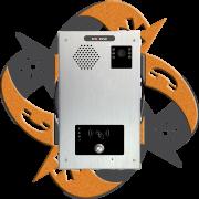 Escene IV720R-01 - Video Citofono Portero IP RFID PoE 1 Botón