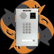 Escene IV730T-01 - Video Citofono Portero IP PoE Teclado + 1 Botón