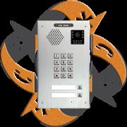 Escene IV730T-02 - Video Citofono Portero IP PoE Teclado + 2 Botones