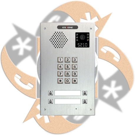 Escene IV730T-04 - Video Citofono Portero IP PoE Teclado + 4 Botones