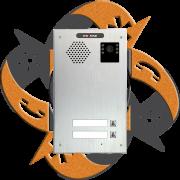 Escene IV740-02 - Video Citofono Portero IP PoE 2 Botones