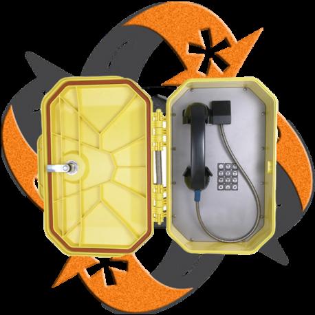 Cyberdata 011460 - Teléfono Resistente Ambiente SIP