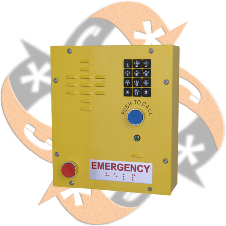 Cyberdata 011463 - Teléfono SIP Emergencia