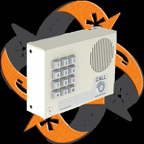 Cyberdata 011113 - Citófono VoIP Interno Teclado