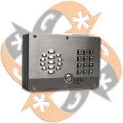 Cyberdata 011214 - Citófono VoIP Externo Teclado