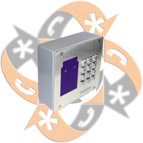 Cyberdata 011426 - Control Acceso SIP RFID Teclado