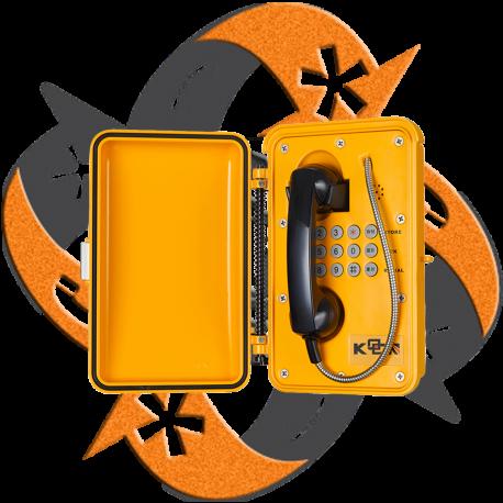 Koon Tech KNSP-01 - Teléfono SIP Minería