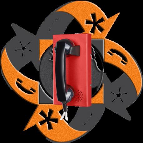 Koon Tech KNZD-14 - Teléfono SIP Hotline