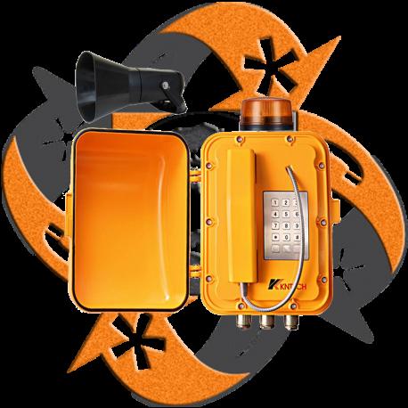 Koon Tech KNEX8 - Teléfono SIP Antiexplosión