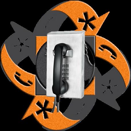 Koon Tech KNZD-10 - Teléfono SIP Teclado