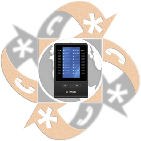 Univois USM-18-LCD Botonera
