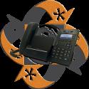 Univois U7KS Teléfono Android iPhone Teclado Gigabit