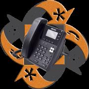 Univois U1 Teléfono PoE