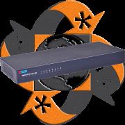 Zycoo ZX50-A8 - PBX IP - 8 FXO-FXS