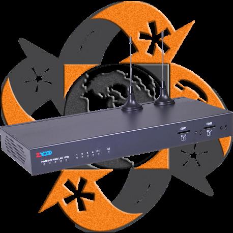 Zycoo ZX50-AG42 - PBX IP - 4 FXO-FXS - 2 GSM