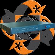 Zycoo ZX60-A32 - PBX IP - 32 FXO-FXS