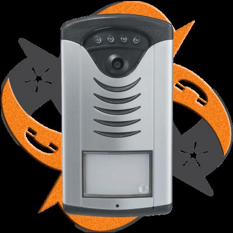 Alphatech IPDP01C - Video Portero IP - 1 Botón Cámara
