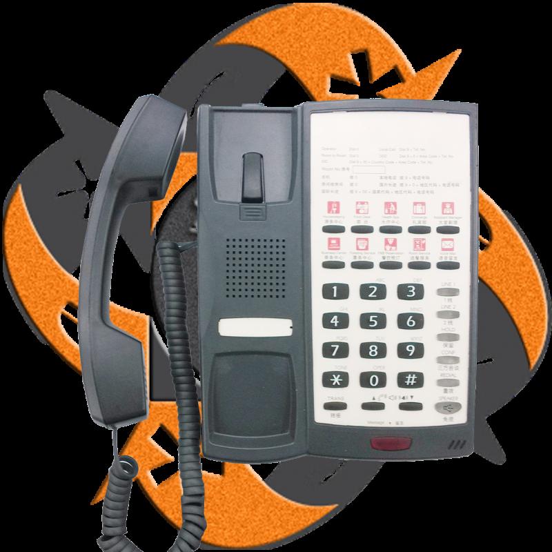 Escene hs118 pb tel fono ip cuarto hotel poe for Telefono cuarto milenio