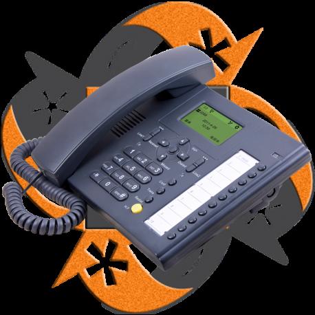 Escene DS102-YN - Teléfono IP Universal Dual