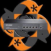 TP-Link TL-ER6020 SafeStream Gigabit Dual WAN - Router VPN